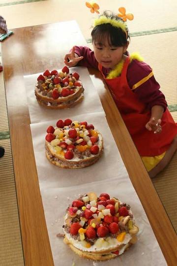 ケーキと作りという戦場