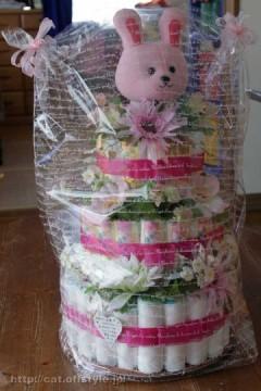 2010年8月18日 おむつケーキ再び