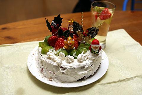 2008年12月25日 本番ケーキ 完成