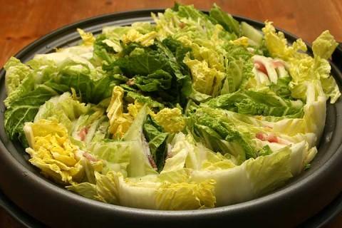 2010年12月20日 白菜と豚肉のミルフィーユ鍋