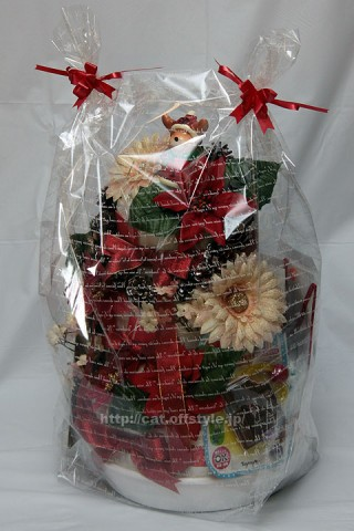 2011年12月7日 おむつケーキ クリスマスバージョン