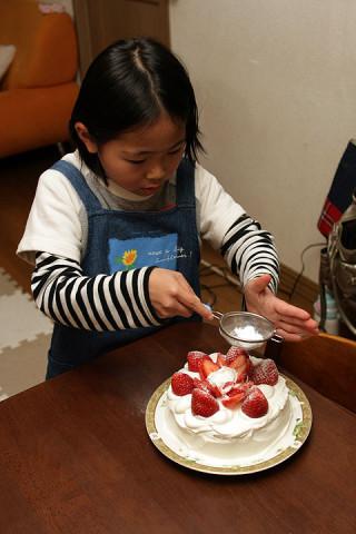 2011年12月13日 ケーキ作り