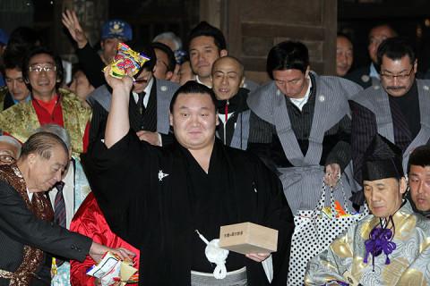 2011年2月3日 不動岡不動尊の節分会に行ってきたぞ その1