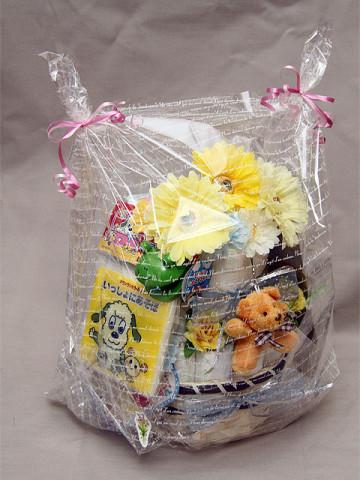 2012年2月4日 おむつケーキ 2段 男の子