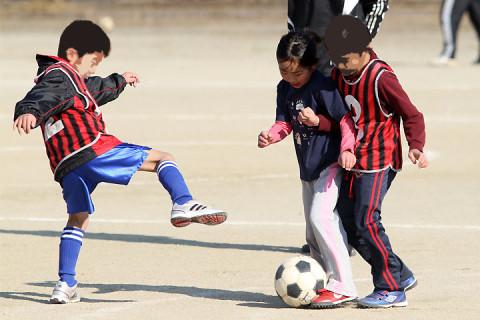 2012年2月18日 サッカー体験