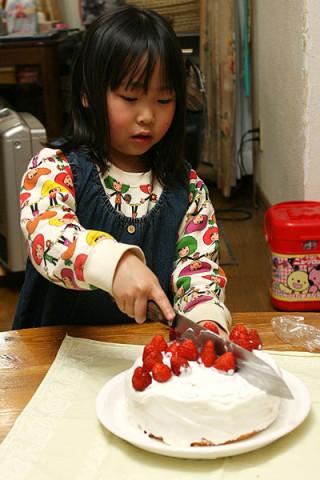 2010年3月26日 ケーキ入刀