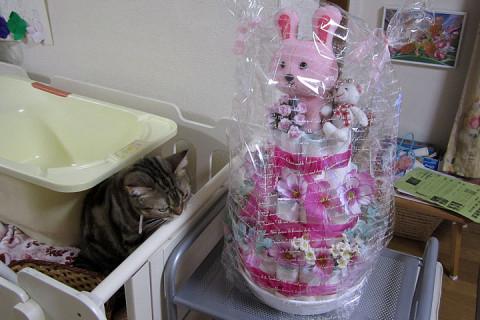 2011年3月5日 ちか用おむつケーキ