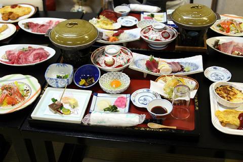 2010年4月6日 ニュー扇屋の食事