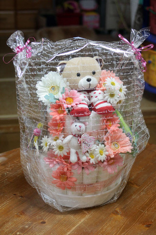 2011年5月8日 新着 おむつケーキ