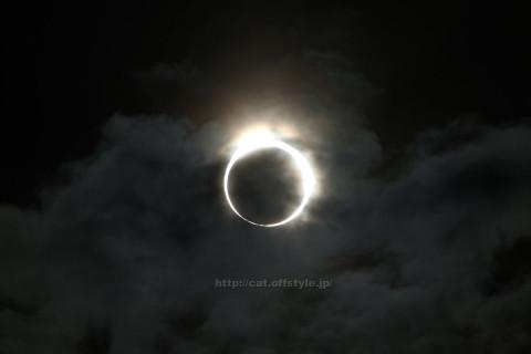 2012年5月21日 金環日食撮れました