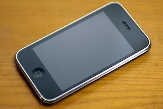 2011年6月23日 iPhone3GS水没