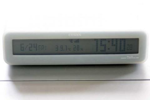 2011年6月24日 仕事部屋の気温